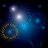 Firework icon design Royalty Free Stock Images