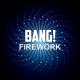 Firework icon design Royalty Free Stock Photo