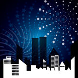 Firework icon design Stock Images