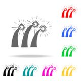 Firework icon. Elements of party multi colored icons. Premium quality graphic design icon. Simple icon for websites, web design, m. Obile app, info graphics on Stock Images