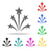 Firework icon. Elements of party multi colored icons. Premium quality graphic design icon. Simple icon for websites, web design, m. Obile app, info graphics on Royalty Free Stock Photography