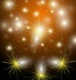Firework. Illustration of firework  design Royalty Free Stock Images