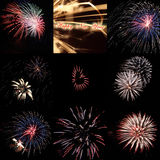 Firework Impressions Royalty Free Stock Image
