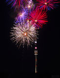 Firework In Vienna No.1 Royalty Free Stock Images