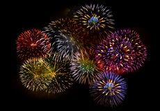 Firework isolated Stock Photos