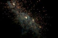 Firework nebula Royalty Free Stock Photos