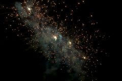 Firework nebula. Abstract image of firework nebula Royalty Free Stock Photography