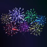 Firework night Royalty Free Stock Images