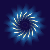 Firework ornament illustration Royalty Free Stock Image