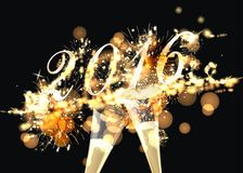 Firework. Party background with colorful firework Royalty Free Stock Photos