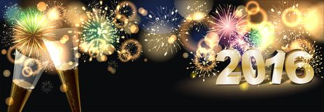 Firework. Party background with colorful firework Royalty Free Stock Images