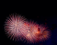 Firework pattern Royalty Free Stock Photography