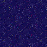 Firework pattern vector design Royalty Free Stock Photography