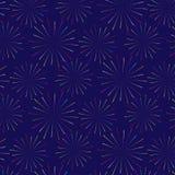 Firework pattern vector design. Firework seamless pattern vector design Royalty Free Stock Photography