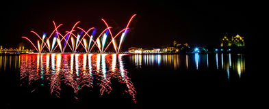 Firework, Putrajaya Malaysia I Royalty Free Stock Photo