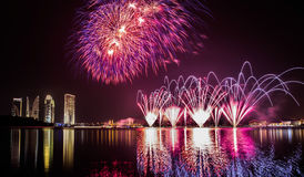 Firework, Putrajaya Malaysia II Stock Images