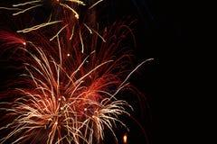 Firework/Pyrotechnics Royalty Free Stock Photography