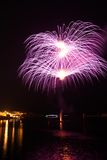 Firework Pyrotechnics,Grand harbour Stock Images