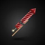 Firework rocket Stock Image