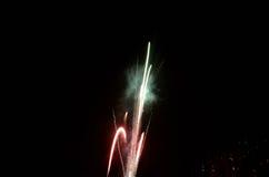 Firework Rocket Exploding Royalty Free Stock Photo
