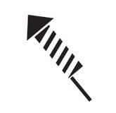 Firework rocket icon vector Stock Photo