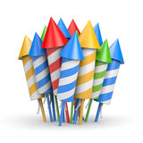Firework rocket Royalty Free Stock Image