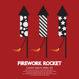 Firework Rocket Stock Image
