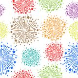 Firework seamless Stock Photography