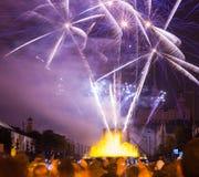 Firework show Royalty Free Stock Photos
