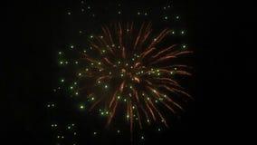 Firework in smog