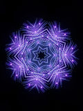Firework Snowflake Stock Photos