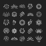 Firework vector illustration celebration holiday event night explosion light festive party. Firework vector icon  illustration celebration holiday event night Royalty Free Stock Photo