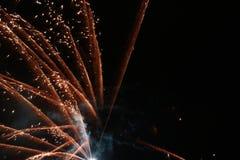 Firework wallpaper and background. Firework for wallpaper and background. night sky lighted up with firework stock photos