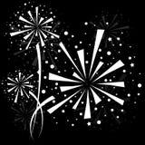 Firework white Royalty Free Stock Photo