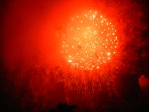 Firework2,第4 2005年7月 免版税库存照片