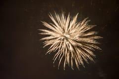 Fireworkds 2015 de nouvelle année Images libres de droits