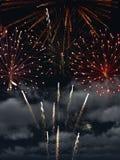 Fireworks 1. 3d render of Fireworks 1 Royalty Free Stock Photos
