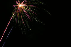 Fireworks 1. Fireworks shot on Nov 5th 2004 (bonfire/Guy Fawkes night - UK Stock Photo