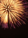 Fireworks. During a festival in Japan Royalty Free Stock Image