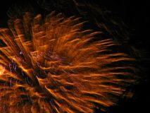 Fireworks. City fireworks display for fourth of July Royalty Free Stock Photos