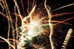 Fireworks 11 Royalty Free Stock Photo