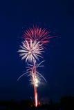 Fireworks. Novosibirsk, 2006 Royalty Free Stock Photos