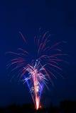 Fireworks. Novosibirsk, 2006 Royalty Free Stock Images