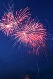 Fireworks. Novosibirsk, 2006 Stock Photography