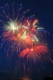 Fireworks. Novosibirsk, 2006 Stock Images