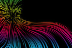 Fireworks. Colorful fireworks on black background Royalty Free Stock Images