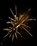 Fireworks. A very beautiful fire works Royalty Free Stock Image