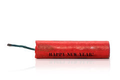 Fireworks. Firecracker for New Year's Eve Stock Image