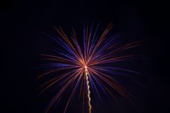 Fireworks. 4th of july fireworks Royalty Free Stock Image