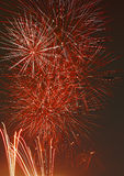 Fireworks. Brightful fireworks in London, UK Royalty Free Stock Images